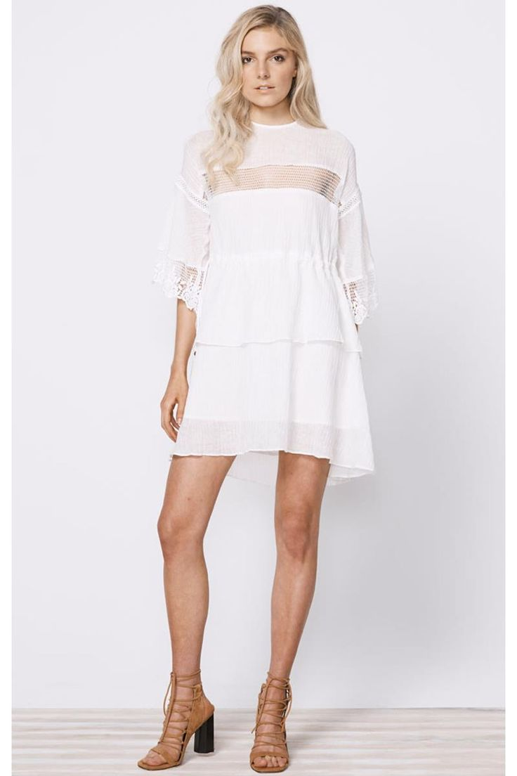 Stevie May Lunar Day Linen Mini Dress
