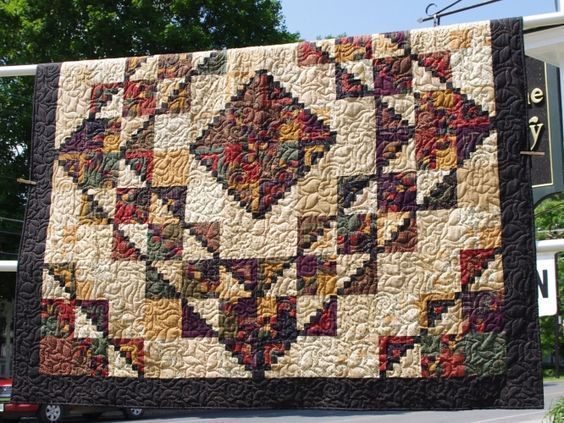 Image result for High Country Log Cabin quilt