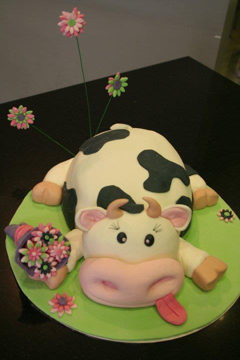 Torta Vaquita divertida  :D