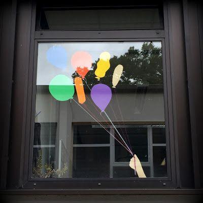 Endlich Pause 2.0: Fensterdeko