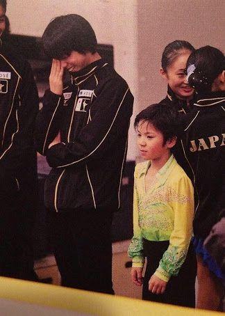 Yuzu and baby Shoma