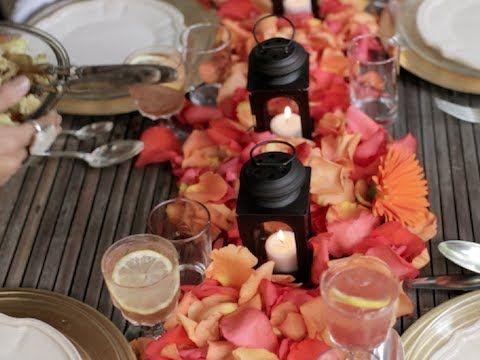 {VIDEO!} Moroccan Dinner Teaser: Full Party on www.LEAF.tv