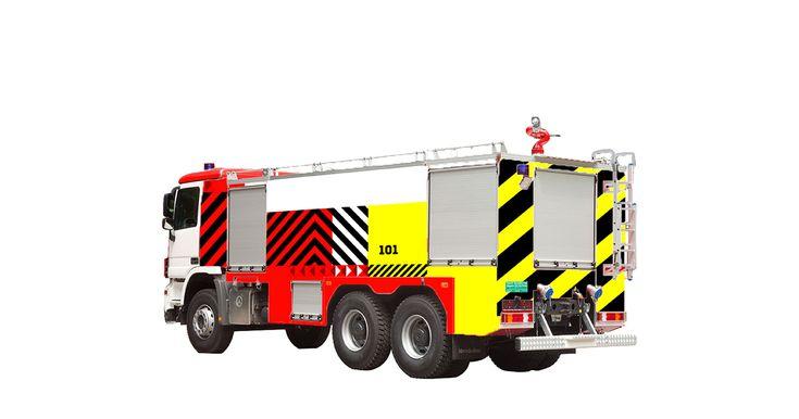 Rissian Fire Service Rebranding on Behance