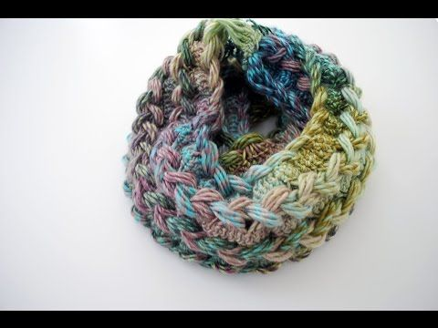 Not Just Another Infinity Scarf, This One Has Some Gorgeous Details… – Crafty House