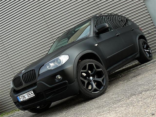 Matte Black BMW X5
