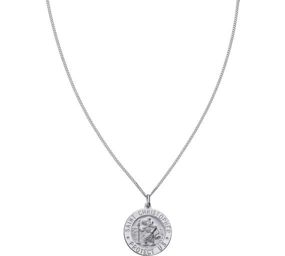 Buy Sterling Silver St. Christopher Pendant at Argos.co.uk, visit Argos.co.uk to shop online for Men's necklaces, chains and dog tags, Men's jewellery and cufflinks, Jewellery and watches