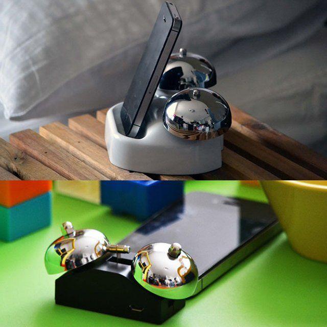 iBell iPhone Alarm Clock Cradle #Alarm, #Clock, #IPhone