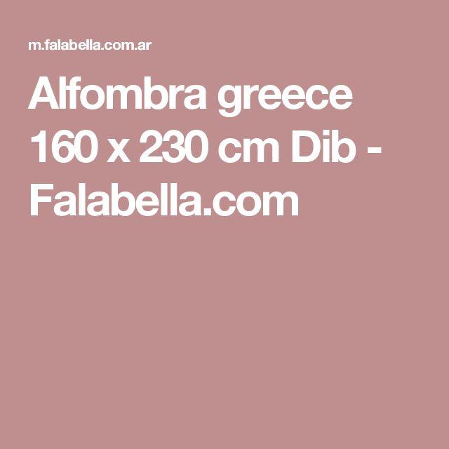 Alfombra greece 160 x 230 cm Dib - Falabella.com