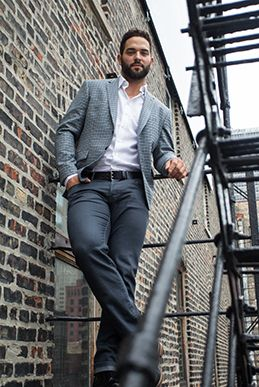33 best boga men about town images on pinterest guy for Dress shirts for athletic build