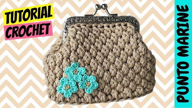 "Tutorial uncinetto ""punto Marine"" | Crochet ""Marine stitch"" || Katy Hand..."
