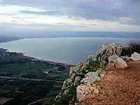 Return to Mt. Arbel overlooking the Kinneret (Sea of Galilee)