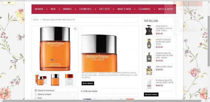 Charming Perfumes PrestaShop Theme 1.5