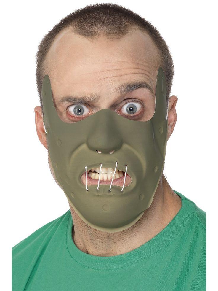 Hannibal maski. Nyt on saatavilla aidon sarjamurhaajan maski.
