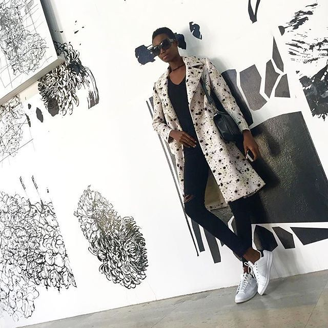 Model Maria Borges Knows How to Upgrade an Outfit