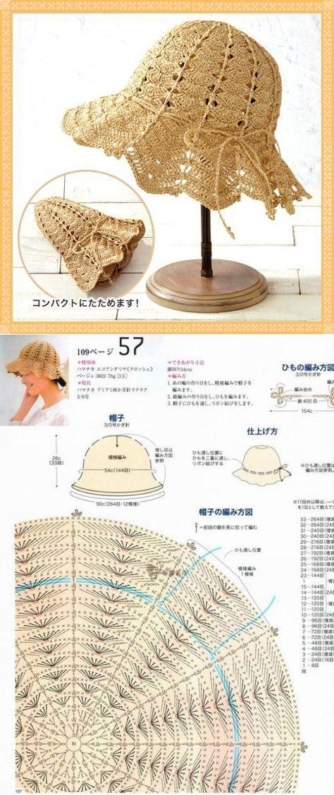 вязание | Capelinas | Pinterest | Crochet hats, Crochet y Knitting