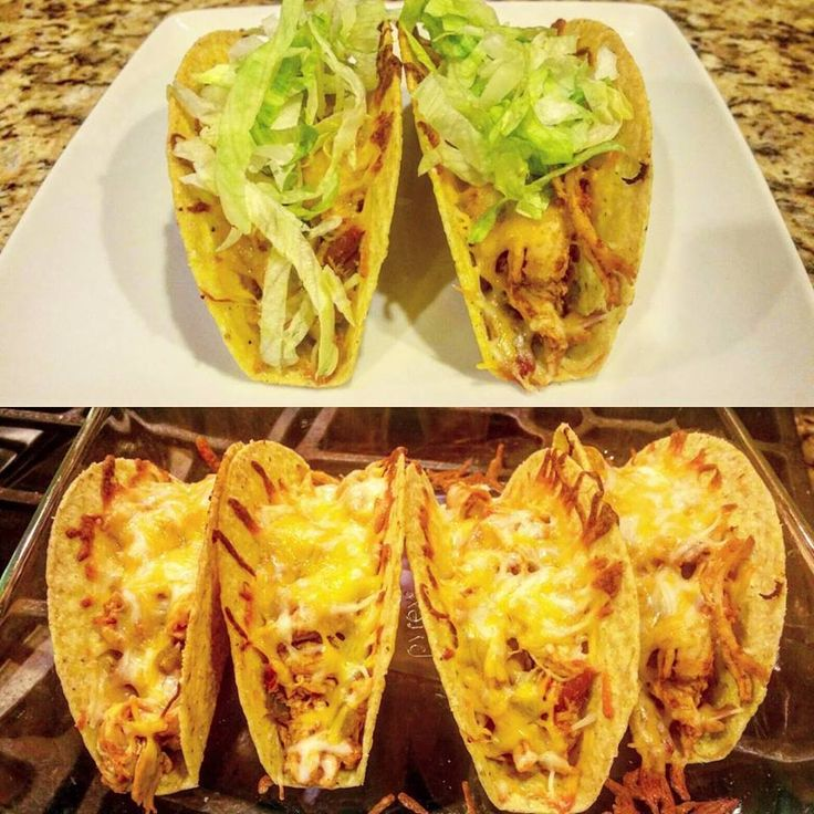 I absolutely LOVE Mexican food - and I also love that my meal plan allows  me to eat a lot of it! I love tacos and wanted to spice them up a bit. I  get bored of my ground turkey tacos. These were a huge hit in our house. I  was able to make the chicken mixture ahead of time and keep it in the