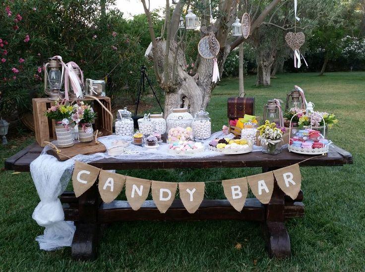 Διακόσμηση γάμου.Country style γάμος στο Αγρόκτημα Μελεαγρίς.Όλα σχεδιασμένα από την ομάδα του Vourlos Confetti www.vourlos.com