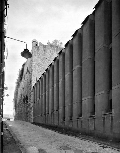 ignazio gardella - facoltà di architetture, genova, 1975-89