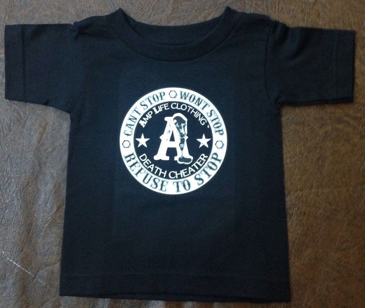 AMPUTEE LIFE® DEATH CHEATER TODDLER Black Tee