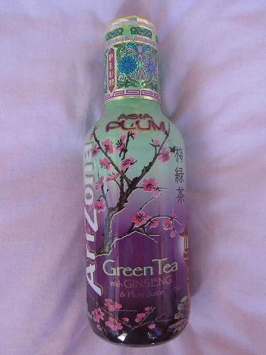 Arizona Tea Asia Plum, drank these on my shift at Brandy's