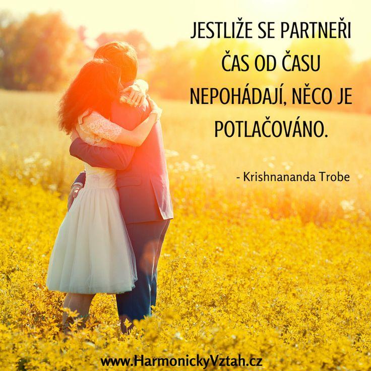 Vyříkat si, svůj hněv, svoje bolesti patří ke každému zralému vztahu. http://HarmonickyVztah.cz