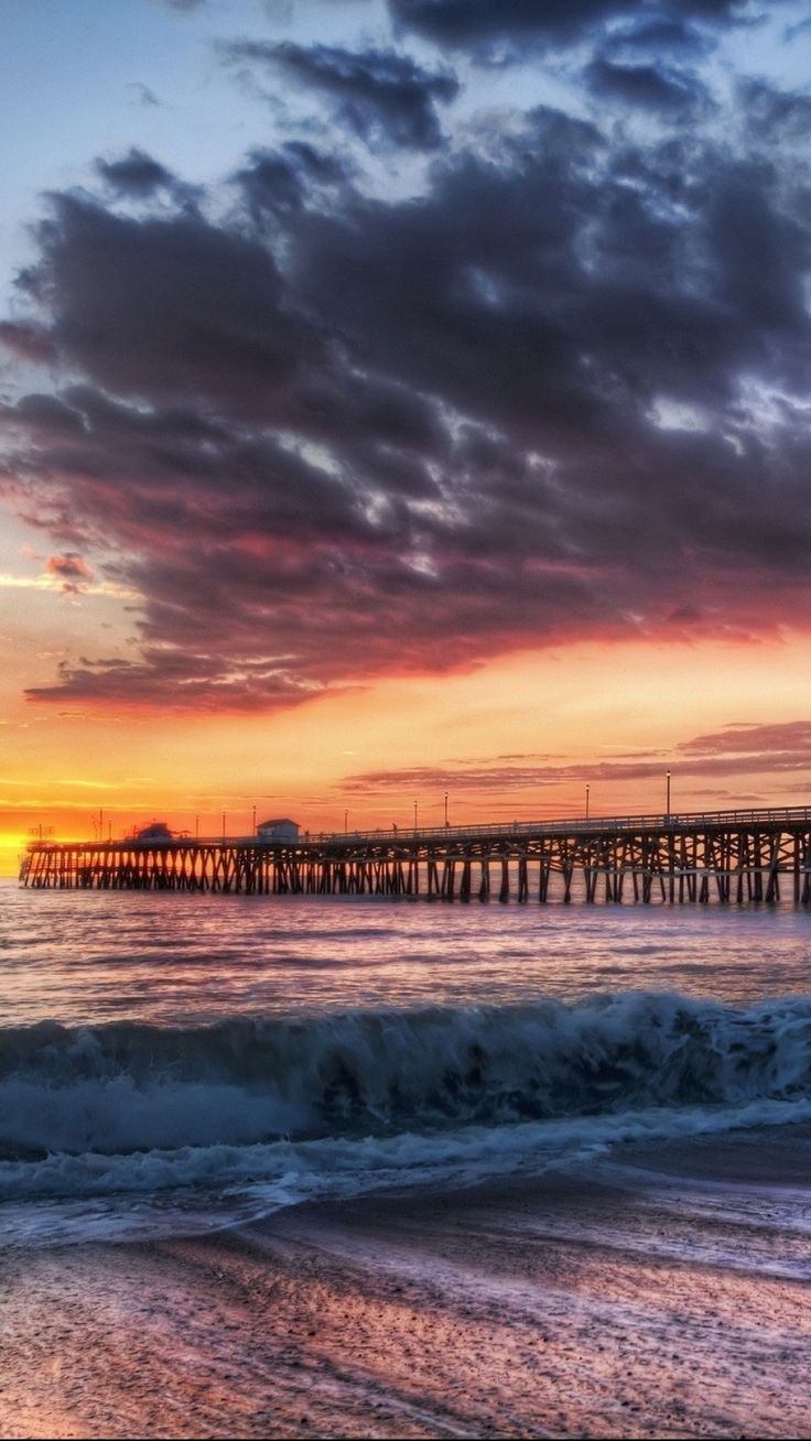Wallpaper iphone plus - California Beach Dock Sunset Iphone 6 Plus Wallpaper Clouds Wave California Iphone 6 Plus Wallpaper Iphone 6 Plus Wallpaper Ideas About Very Beautiful