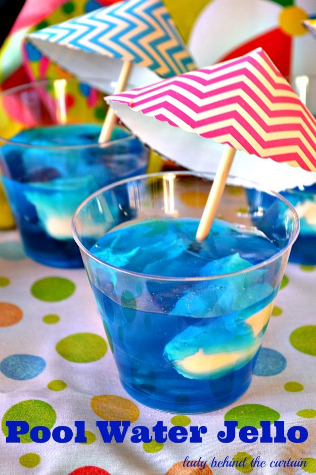 Birthday Pool Party Ideas For Kids pool party ideas httplanewstalkcompool party Pool Water Jello Pool Party Kidskids Birthday Party Ideasluau