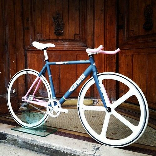 Cinelli Vigorosa White themed