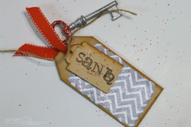 Santa magic door key - If you don't have a chimney for Santa to come down, this special key will allow him to come inside and leave his presents!