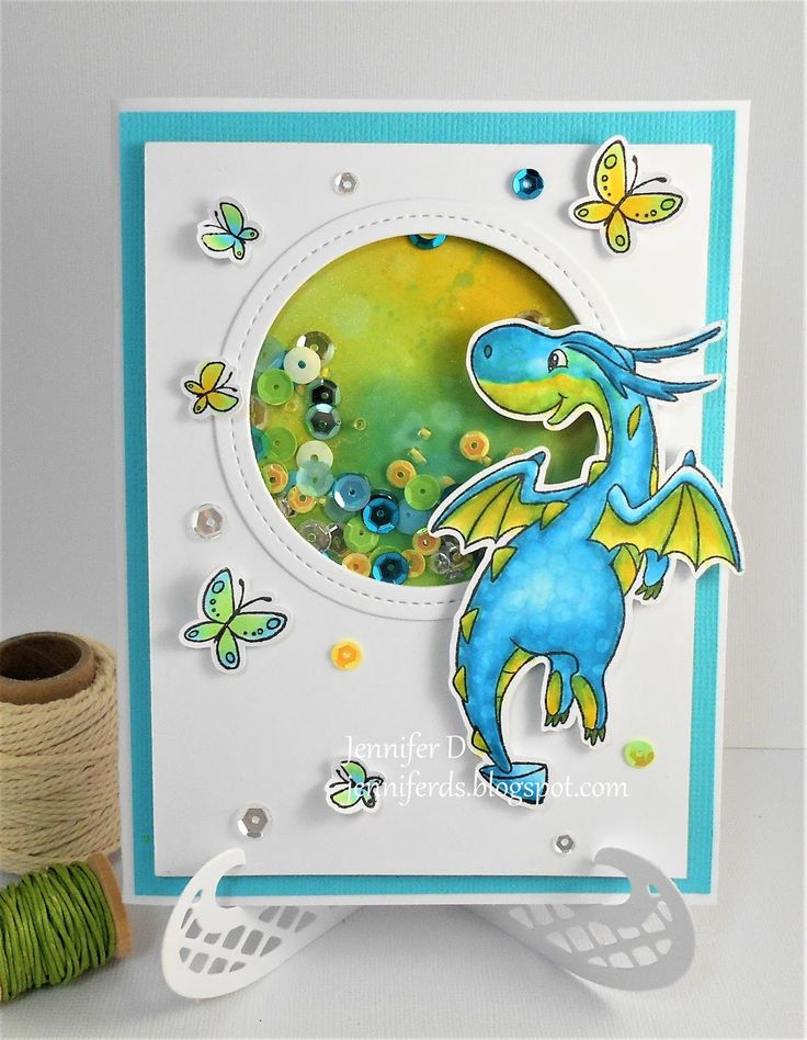 Hi I am here with my card for the The Rubber Buggy . This week I have used this great stamp from Wild Rose Studios - Dragon Flyi...