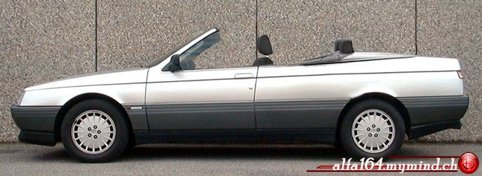 Alfa Romeo 164 convertible