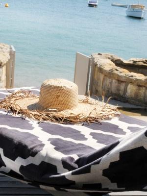 Snakeskin Beach Towel at Pam Beach