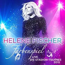 Helene Fischer: Farbenspiel Live - Die Stadion-Tournee 2015 // 26.05.2015 - 08.07.2015 // 26.05.2015 19:30 DÜSSELDORF/ISS DOME // 26.05.2015 19:30 DÜSSELDORF/ISS DOME // 26.05.2015 19:30 DÜSSELDORF/ISS DOME // 28.05.2015 19:30 HASSELT / BELGIUM/Ethias Arena // 02.06.2015 19:30 ROSTOCK/DKB Arena Rostock // 04.06.2015 19:30 HAMBURG/Imtech Arena // 05.06.2015 19:30 HAMBURG/Imtech Arena // 07.06.2015 19:30 HANNOVER/HDI Arena // 10.06.2015 19:30 FRANKFURT/Commerzbank-Arena // 13.06.2015 19:30…