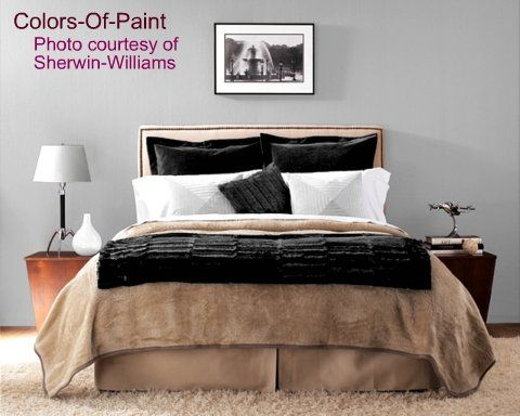 Popular Bedroom Paint Colors by Sherwin Williams
