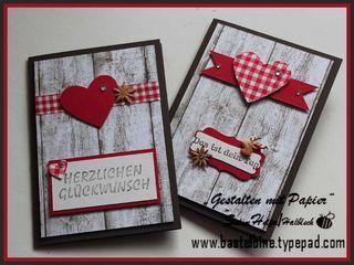Landhausstil · Hochzeit EinladungskartenKarten ...