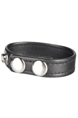C Gear Snap Cock Ring - One Size, Black Men's Intimacy Products