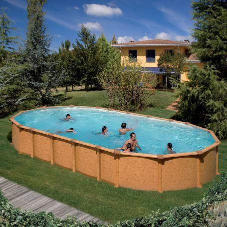 Les 25 meilleures id es concernant piscine hors sol acier for Piscine d angle hors sol