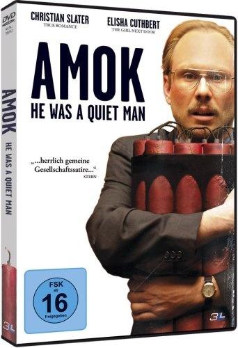 Amok He was a quiet man  2007 USA      IMDB Rating      6,9 (15.711)    Darsteller:      Michael DeLuise,      Christian Slater,      Jamison Jones