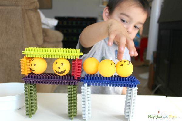 Five Little Pumpkins STEM Activity
