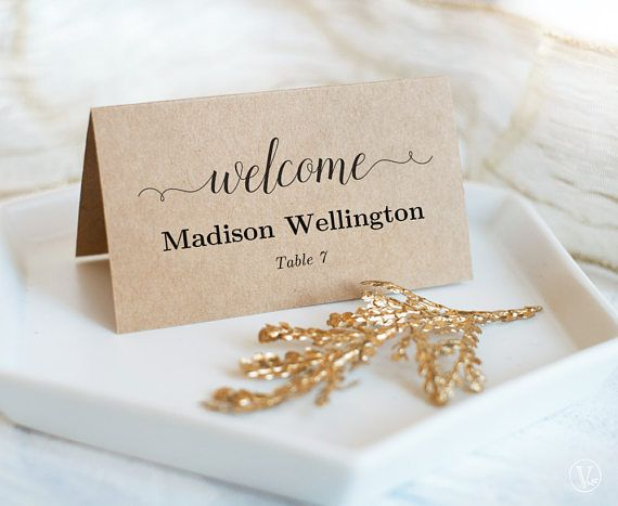 Best 25+ Place card template ideas on Pinterest Free place card - place card template