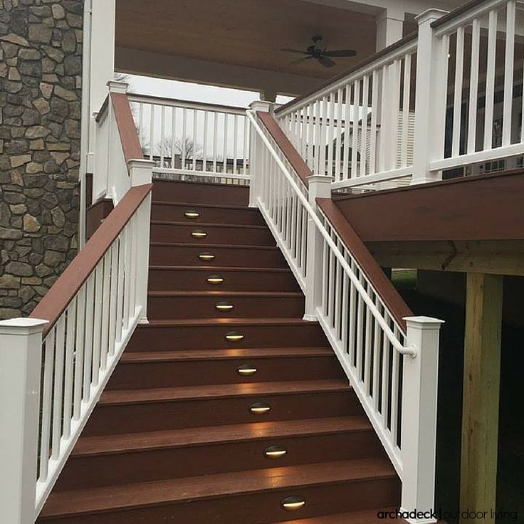Deck trends step up your deck design with the stairs for Exterior stairs