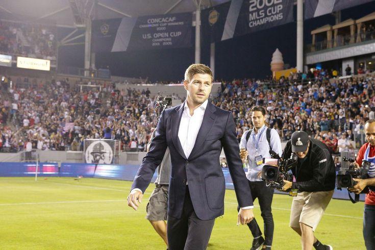 Steven Gerrard LA Galaxy debut