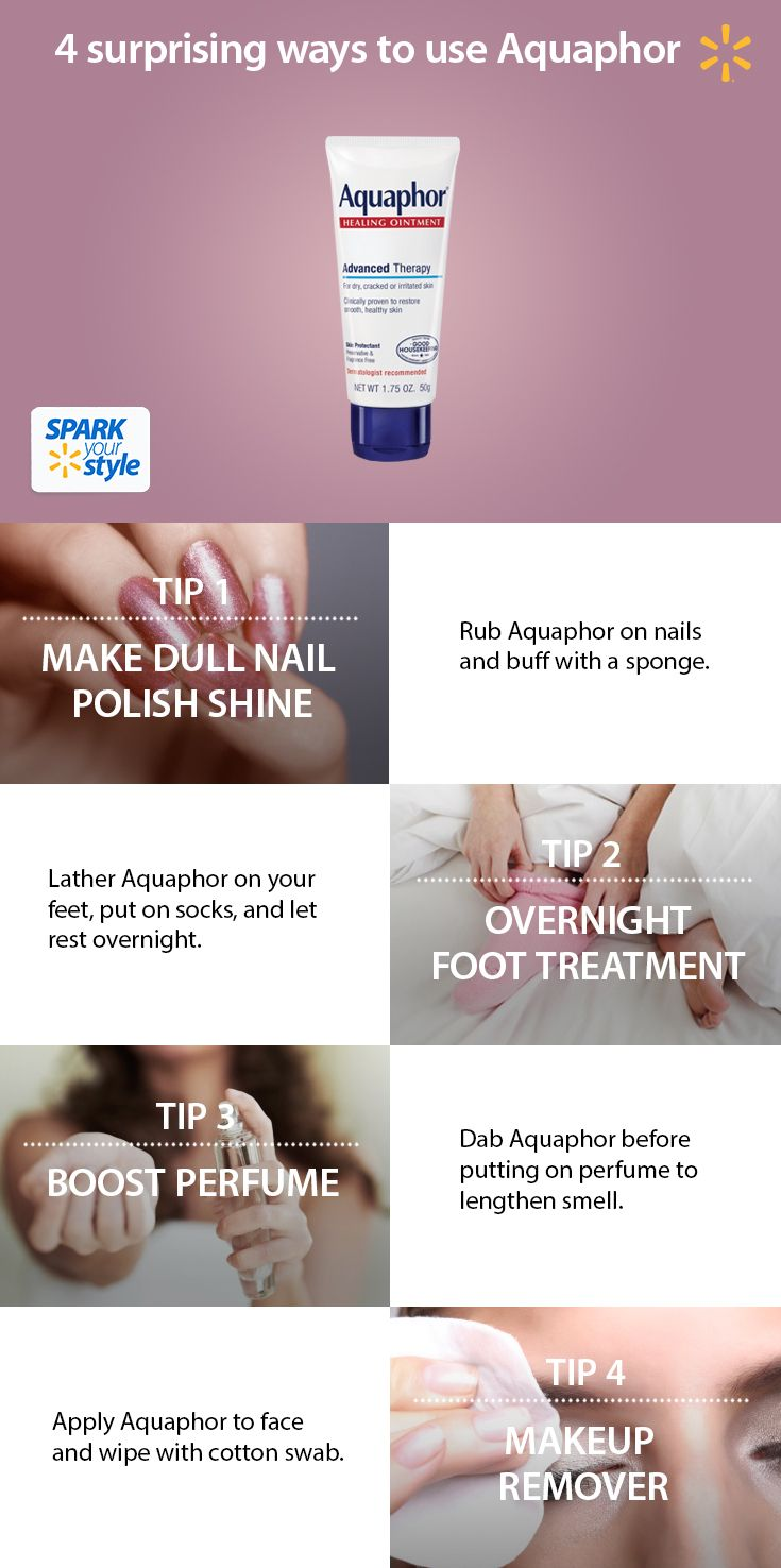 Discover surprising ways to update your beauty routine with Aquaphor Healing Ointment.