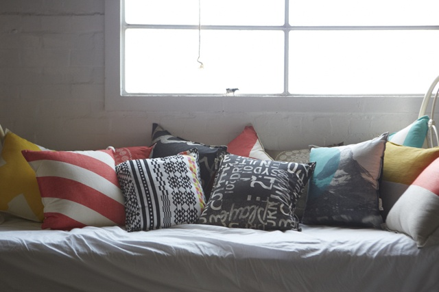 Pony Rider 45cm cushions. Mix it up!