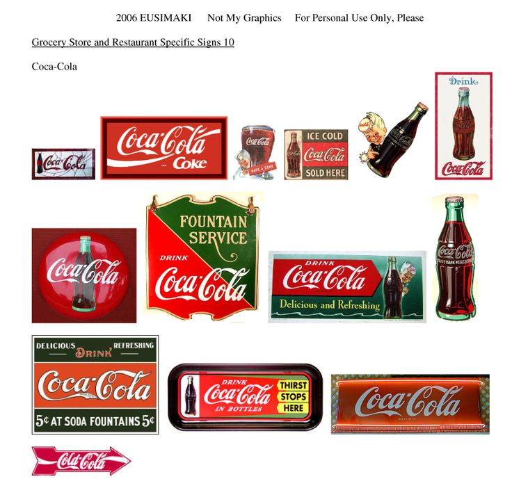 Grocery and Restaurant Signs - Website devoted to 1/12th scale miniature dollhouse printables (printies)!    http://myweb.ecomplanet.com/USIM4531/mycustompage0002.htm#
