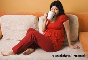 Research shows that the therapeutic benefits of drinking coffee do not apply to pregnant women. http://articles.mercola.com/sites/articles/archive/2014/02/03/coffee-in-pregnancy.aspx