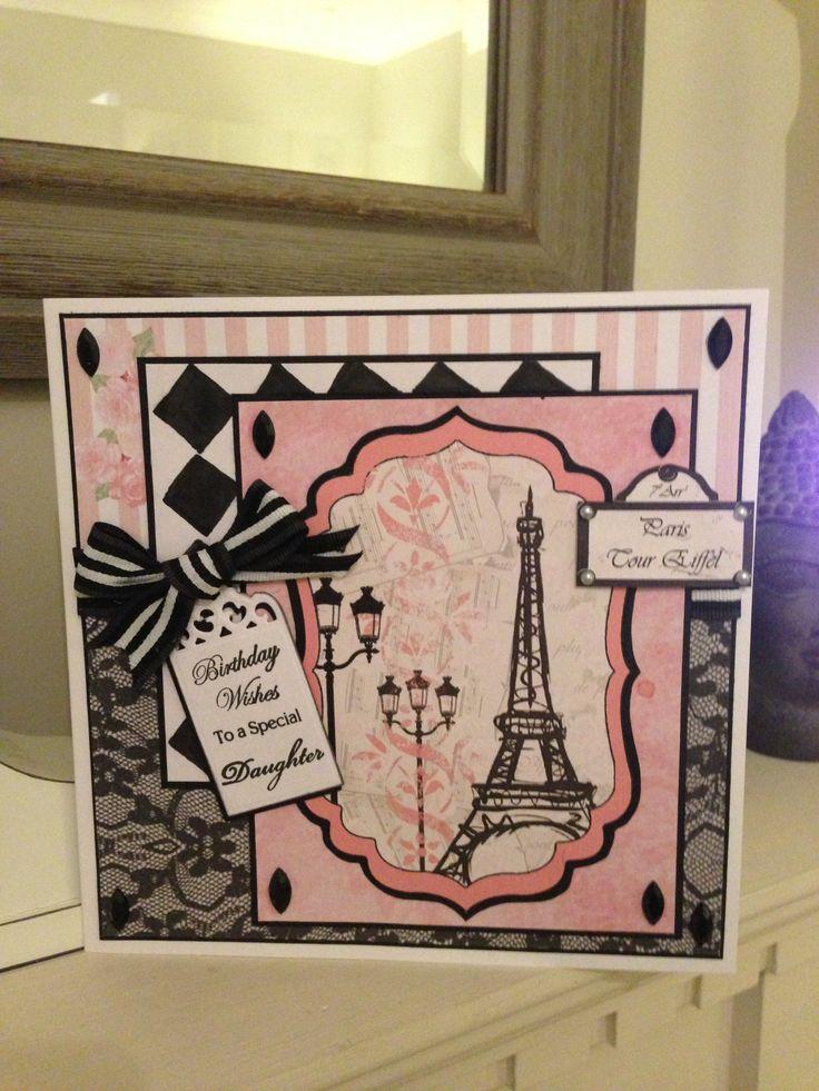 My design using Debbie Moore  Paris cd-rom..