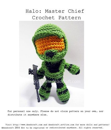 Xbox Crochet Pattern : 25+ best ideas about Halo master chief on Pinterest Halo ...