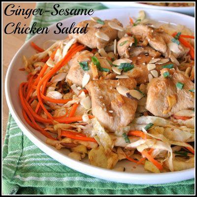 Mom, What's For Dinner?: Ginger-Sesame Chicken Salad