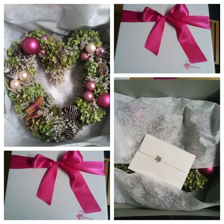 2012 BlossomStory Wreath order your's now